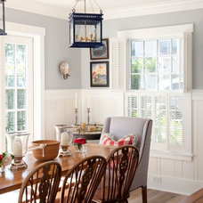 Beach Style Dining Room by Flagg Coastal Homes