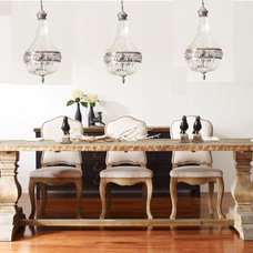 Traditional Dining Room by Zin Home