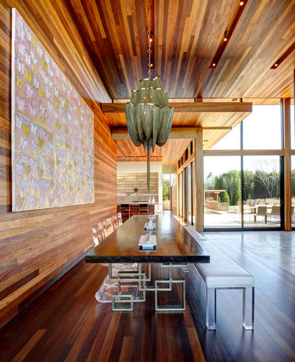 Contemporary Dining Room by Bates Masi Architects LLC