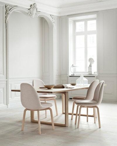 Contemporary Dining Room by Republic of Fritz Hansen