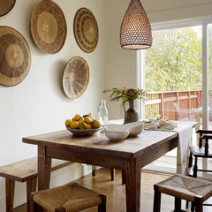 eclectic dining room by Jute Interior Design
