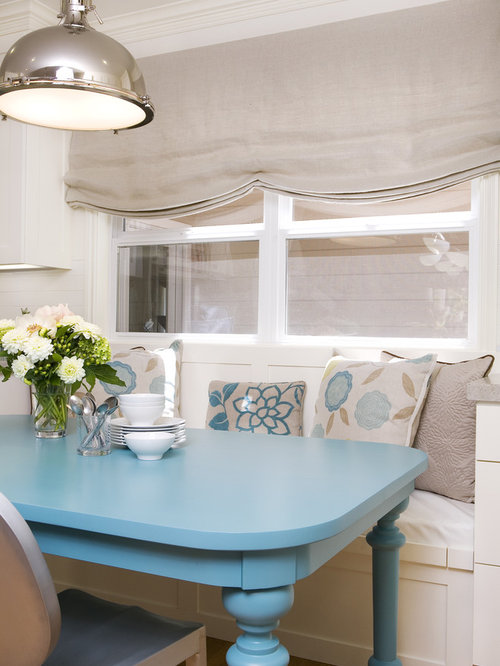 Lovely ... Blue Kitchen Table Painted Wood Dining Table Houzz ...