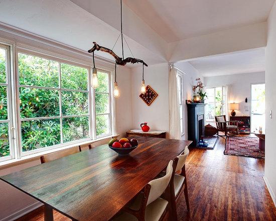 Narrow Living Room Solutions: Narrow Dining Room