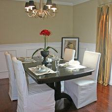 Contemporary Dining Room by CMM Construction, Inc.