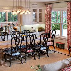Farmhouse Dining Room by Darci Goodman Design
