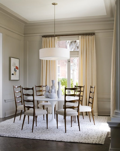 Contemporary Dining Room by Leverone Design, Inc.
