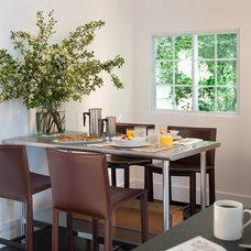 Modern Dining Room by Michael Merrill Design Studio, Inc
