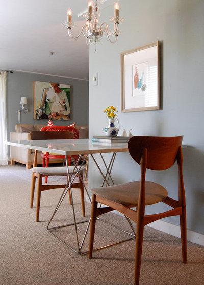 10 modi intelligenti per ottimizzare i piccole stanze da - Sala da pranzo shabby chic ...