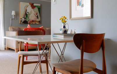 How to Weave a Dining Area into Your Living Space