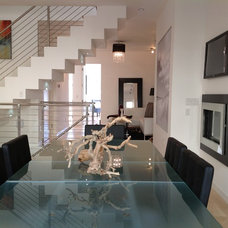 Contemporary Dining Room by MOONES Home LLC