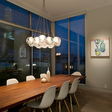 Contemporary Dining Room by Indivar Sivanathan