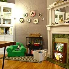 Eclectic Dining Room by Shannon Malone