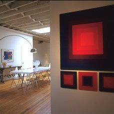 Modern Dining Room by Suzette Sherman Design