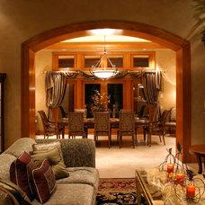 Traditional Dining Room by GRADY-O-GRADY Construction & Development, Inc.