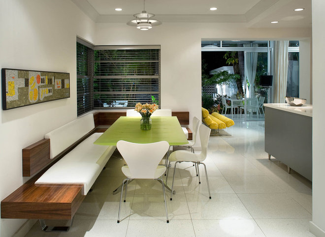 Midcentury Kitchen by Robert Kaner Interior Design