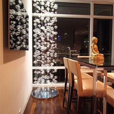 Contemporary Dining Room by Cantoni