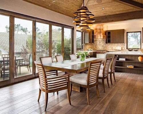 Tropical San Francisco Dining Room Design Ideas Remodels