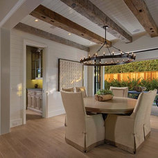 Farmhouse Dining Room by Patterson Custom Homes