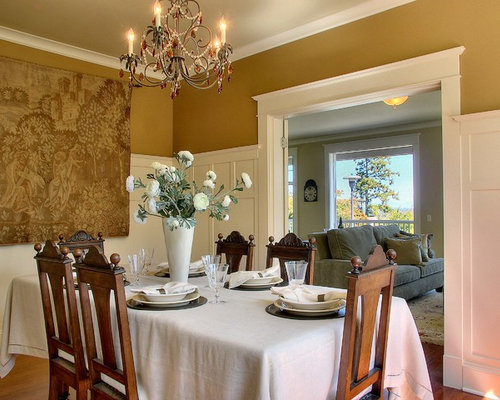 dining room wainscoting moulding | houzz