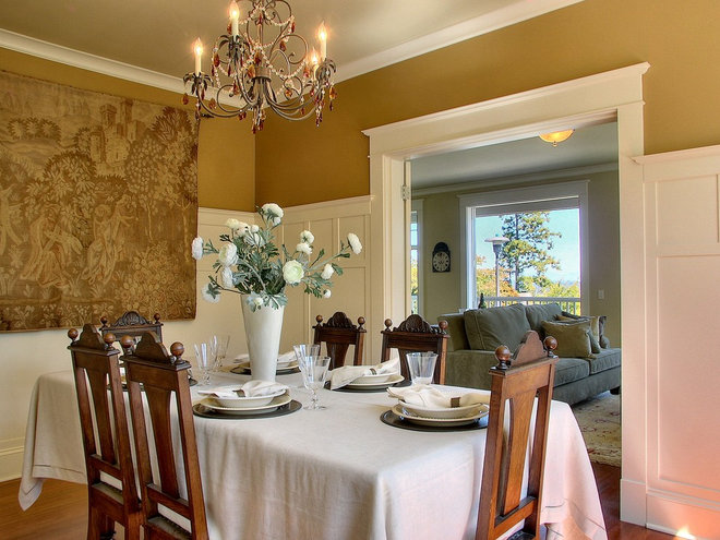 Traditional Dining Room by RW Anderson Homes