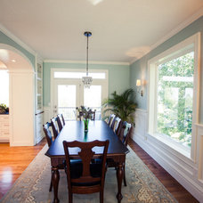 Traditional Dining Room by Tiek Built Homes