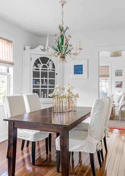 Beach Style Dining Room by LDa Architecture & Interiors