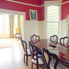 traditional dining room by Alex Amend Photography