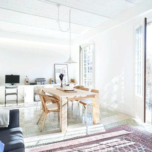 Danish dining room photo in Madrid