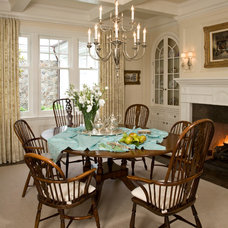 Beach Style Dining Room by Kathryne Designs, Inc