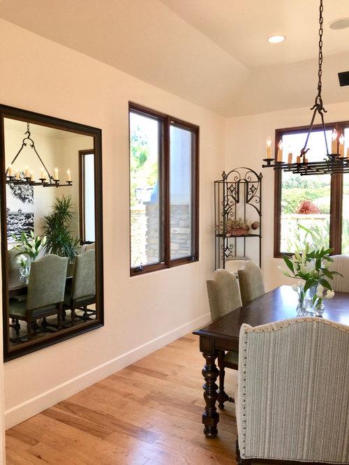 santa barbara style dining room