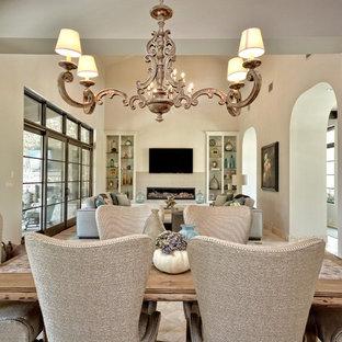Santa Barbara Transitional Dining to Family Room