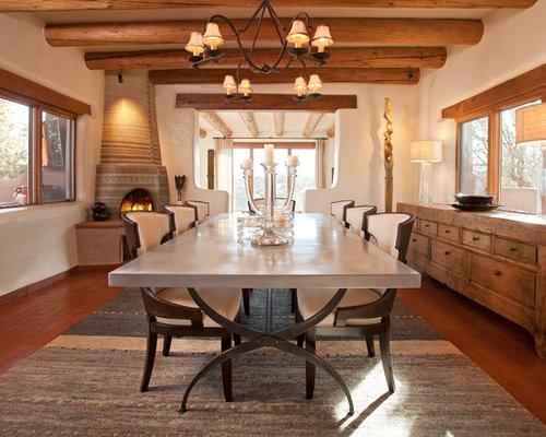 mediterrane esszimmer mit terrakottaboden ideen bilder. Black Bedroom Furniture Sets. Home Design Ideas