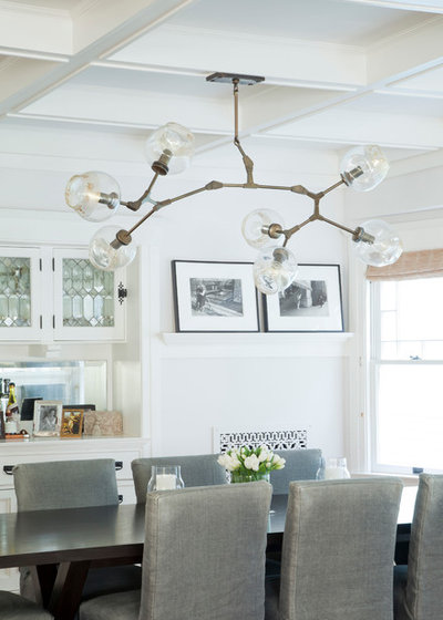 Beach Style Dining Room by Evens Architects