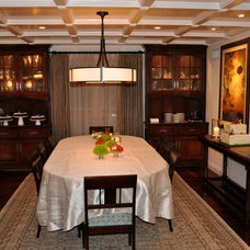Traditional Dining Room by Joni Koenig Interiors