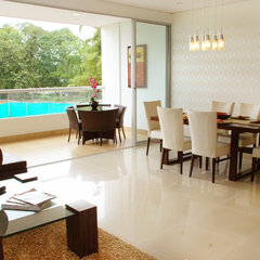 contemporary dining room by FRANCISCO MUÑOZ