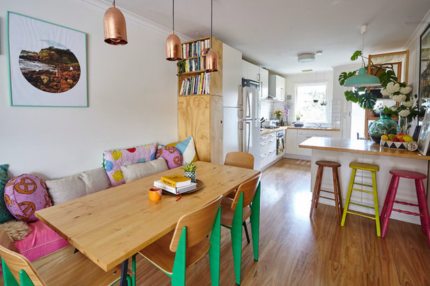Eclectic Dining Room by Michelle Jarni