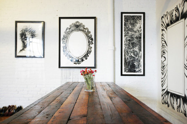Industrial Dining Room by Chris A. Dorsey Photography