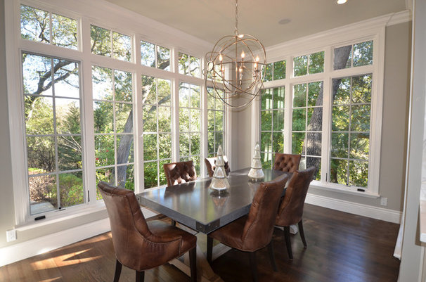 Traditional Dining Room by Mason Hammer Builders, Inc