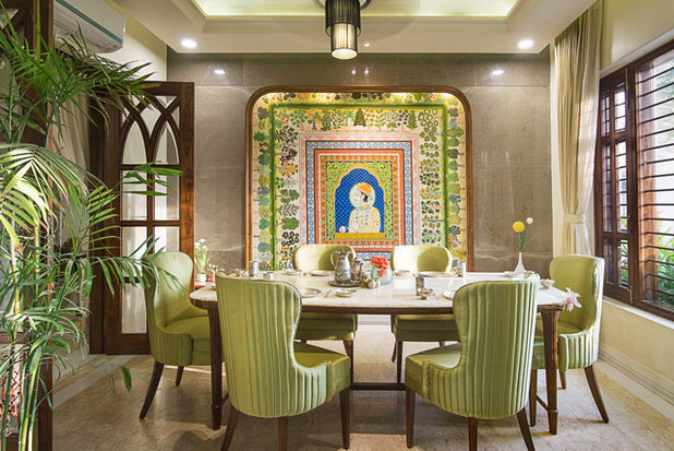Indian Dining Room by VB Design Studio