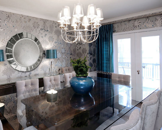 Glass Top Dining Room TableGlass Top Dining Room Table   Houzz. Glass Table For Dining Room. Home Design Ideas