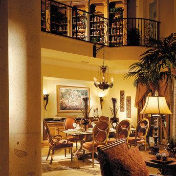 "Sater Design Collection's 6910 ""Fiorentino"" Home Plan"