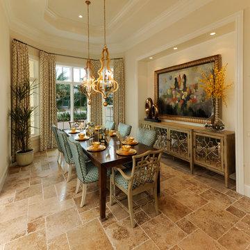 """Sater Design Collection's 6968 """"Portofino"""" Home Plan"""