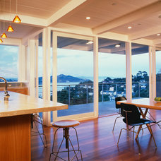 Contemporary Dining Room by Nick Noyes Architecture