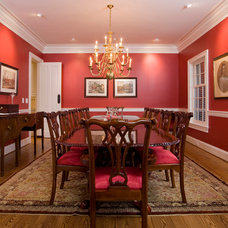 Traditional Dining Room by Crawford Builders