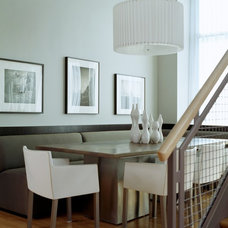 Modern Dining Room by Duffy Design Group