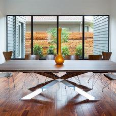 Contemporary Dining Room by Cason Graye Homes