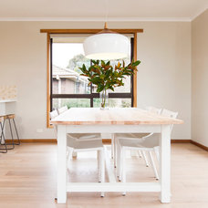 Contemporary Dining Room by White Elk Interiors
