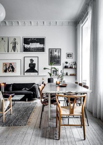 Nórdico Comedor Scandinavian Dining Room