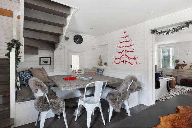 Idées Originales Pour Revisiter Le Sapin De Noël - Canapé convertible scandinave pour noël objets de décoration d intérieur