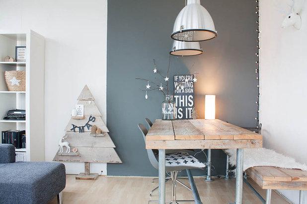 Scandinavian Dining Room by Louise de Miranda
